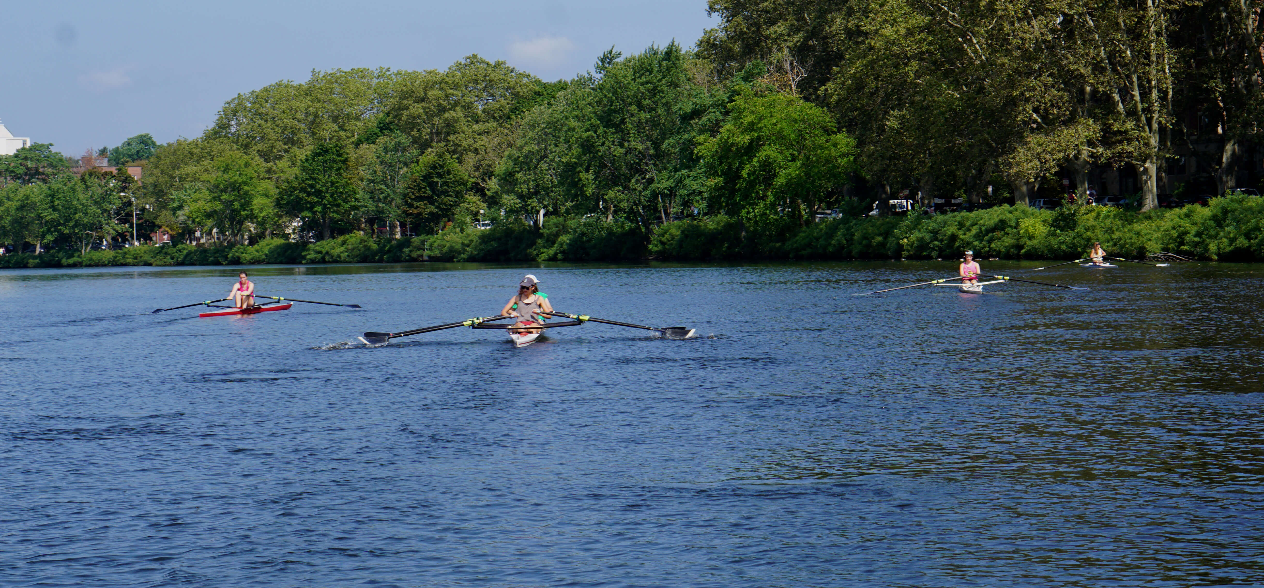 Juniors Learn to Scull 2016